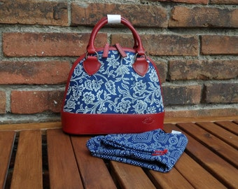 Dilians HANDPRINTED leather handbag JITKA2 F050201
