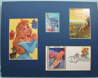 """Walt Disney's """"Sleeping Beauty"""" and First Day Cover of the Sleeping Beauty Stamp"""