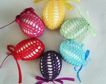 SALE !!! Hand made crochet Easter egg,  Easter decoration