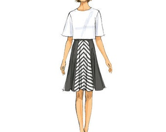 Butterick Sewing Pattern B6179 Misses' Skirt and Culottes