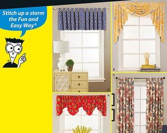 Window Treatments Simplicity Pattern 1152