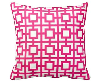 7 Sizes Available: Decorative Pillow Cover Pink Throw Pillow Cover Pink Accent Pillow Pink Cushion Cover 20x20 pillow 18x18 pillow