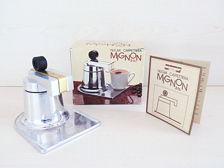 cafeti re italienne vintage nouveau mignon 2 tasses. Black Bedroom Furniture Sets. Home Design Ideas