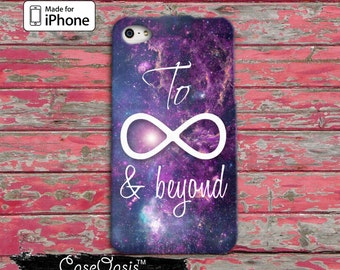To Infinity Symbol And Beyond Space Galaxy Cute Tumblr Inspired iPhone 5/5s and 5c Case and iPhone 6, 6 Plus, 6s, 6s Plus and iPhone SE Case