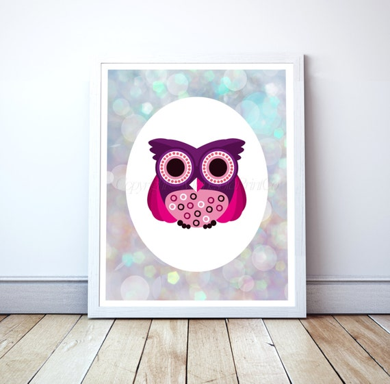 owl decor owl printable owl download owl decor by