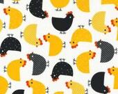 Urban Zoologie Summer Chickens - 1 yard - Robert Kaufman