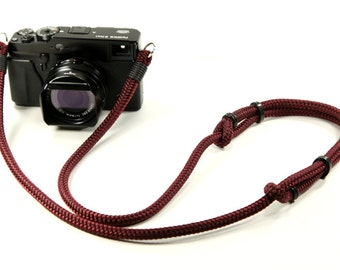 Adjustable Neck Strap: Cord camera neck strap