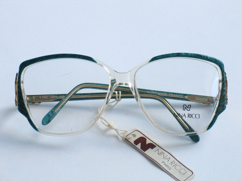 Glasses Frame Made In France : Nina Ricci elegant transparent eyeglasses frame made in France