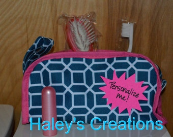 Personalized Little Girl Cosmetic Bag