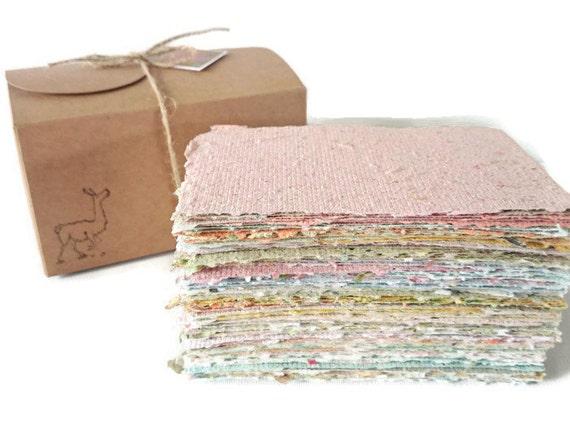 Llama Paper made from Llama Poo