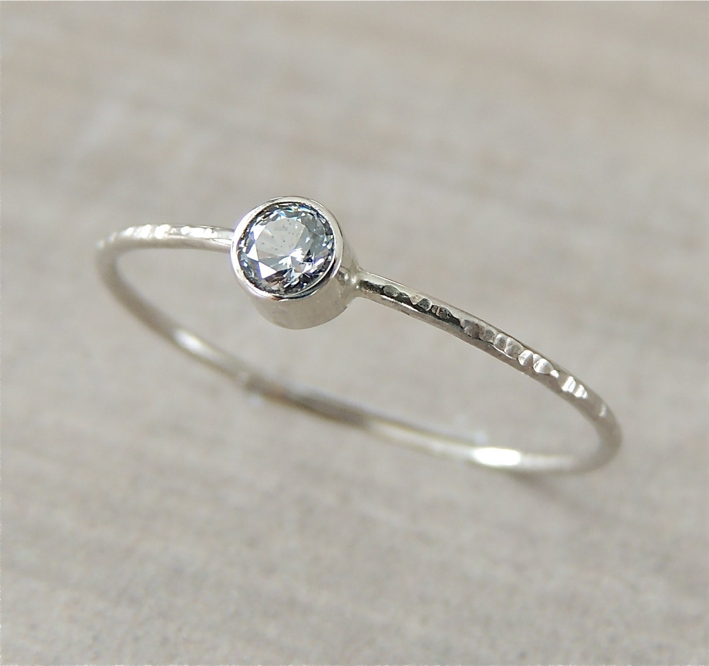 white gold ring moissanite ring engagement ring gold by