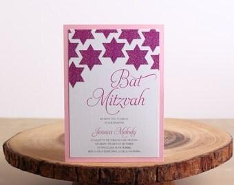 Bat Mitzvah Invitation - look 15