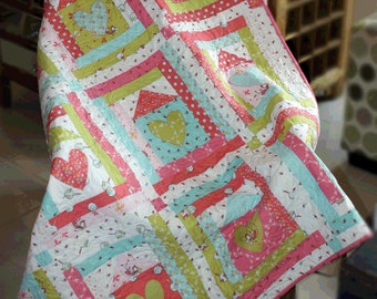 Where the Heart is Quilt Kit