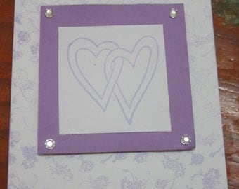 2 Purple Hearts card