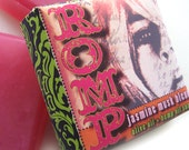 Valentine's Day jasmine musk blend hemp and olive oils soap, Romp, hot pink, sexy, romantic floral musk fragrance