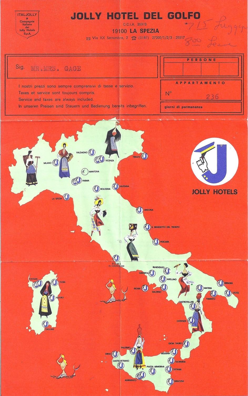 Jolly Hotel Del Golfo La Spezia Check In Information And Map