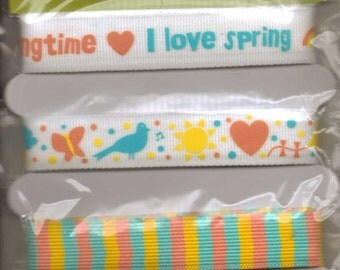 Die Cuts With A View SPRING Adhesive Ribbon