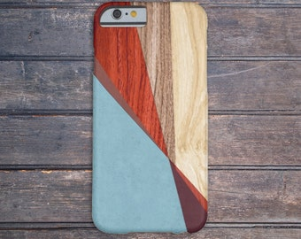 Sky Blue x Transparent Red x Maroon Wood Case for iPhone 6 6 Plus iPhone 7  Samsung Galaxy s8 edge s6 and Note 5  S8 Plus Phone Case
