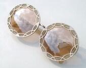 Pink Retro Vintage Style Steampunk Round Aviator Handmade Burning Man Goggles Mens Womens Sunglasses Eyewear Shades Wayfarer