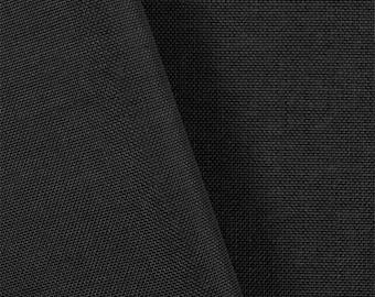 Black 1,000 Denier Cordura Nylon Fabric- By the Yard