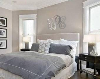 Bedroom Wall Monogram