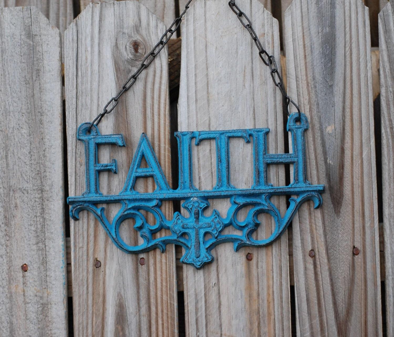 Wall decor faith decor rustic wall decor faith love hope for Faith decor
