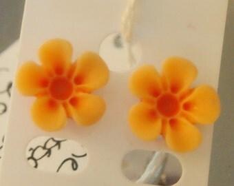 Tangerine Blossoms Earrings