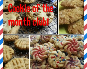 Cookie of the month club! 6 month subscription