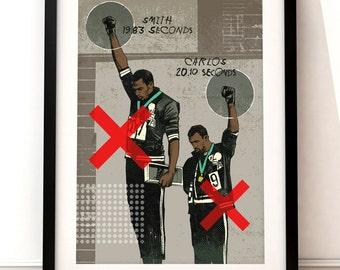 Mexico 1968 Olympics print, Olympics 1968 art print, Olympics 1968 inspired print, Mexico 1968 print, Olympics 1968