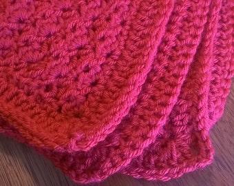 Crochet Baby Blanket -Scarlett