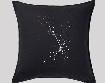 Aries Constellations Pillow Cover, Zen Room Decor, Zodiac Pillow, Horoscope Design, Home decor astrology