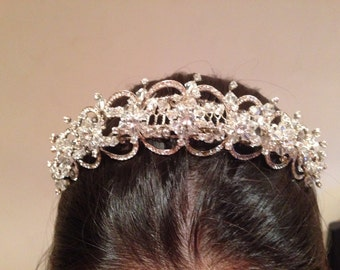 Vintage Tiara with Comb