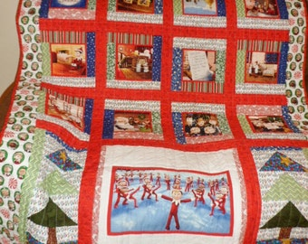 Christmas Elf quilt