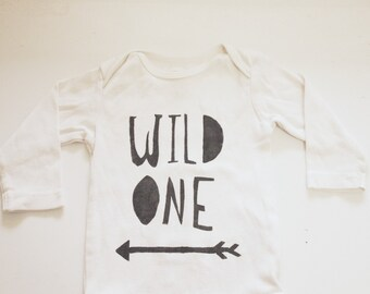 Baby Bodysuit- Wild One