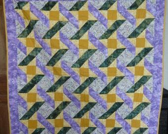Plush garden tablecloth