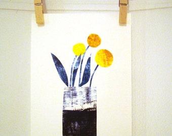 Swedish Spring Flowers Print