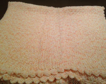 Beautiful baby blanket, hand made