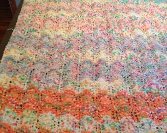 Pompom Baby Blanket