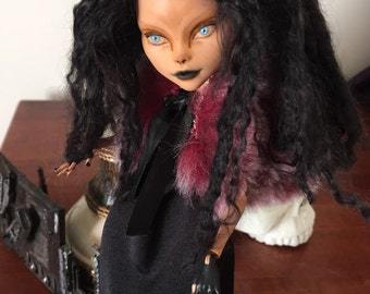 Dr.Travian Collection- RUTH  (Monster High Custom Doll)