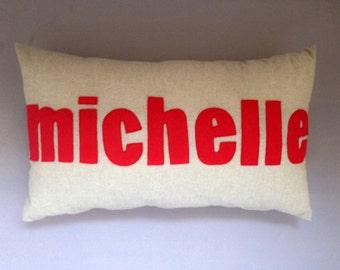 NAME custom cushion 30x50cm