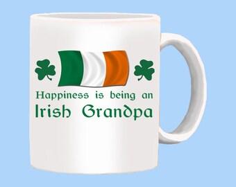Happy Irish Grandpa Mug