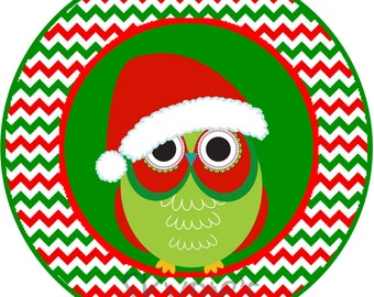 INSTANT DOWNLOAD Printable Christmas Iron On Transfer - Christmas Stocking Iron on - Santa