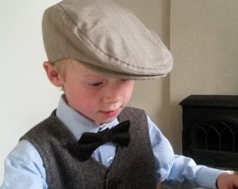 Boy Flat Cap Ring Bearer Outfit Driving Cap Newsboy Hat Ivy Scally Cap Toddler Boys Portraits