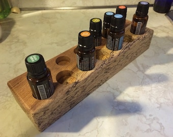 Brazilian Cherry (Jatoba) Essential Oils Display