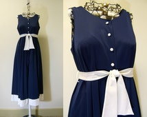 Vintage 1960s Nightgown | Bell Bottom Pantsuit by Gossard Artemis | Medium