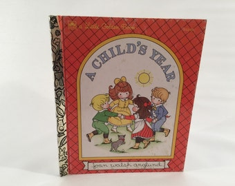 Vintage Little Golden Book 'A Child's Year'