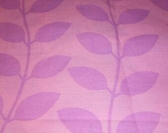 Purple Leaf Fabric