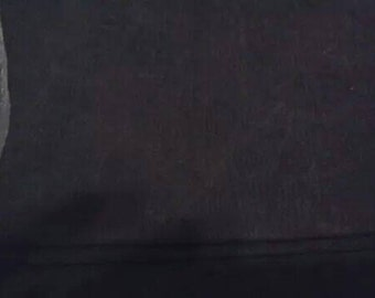 Black Canvas Fabric