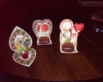 3 Fantastic Old Vintage Valentines from the 30's