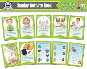 Sunday Quiet Activity Book